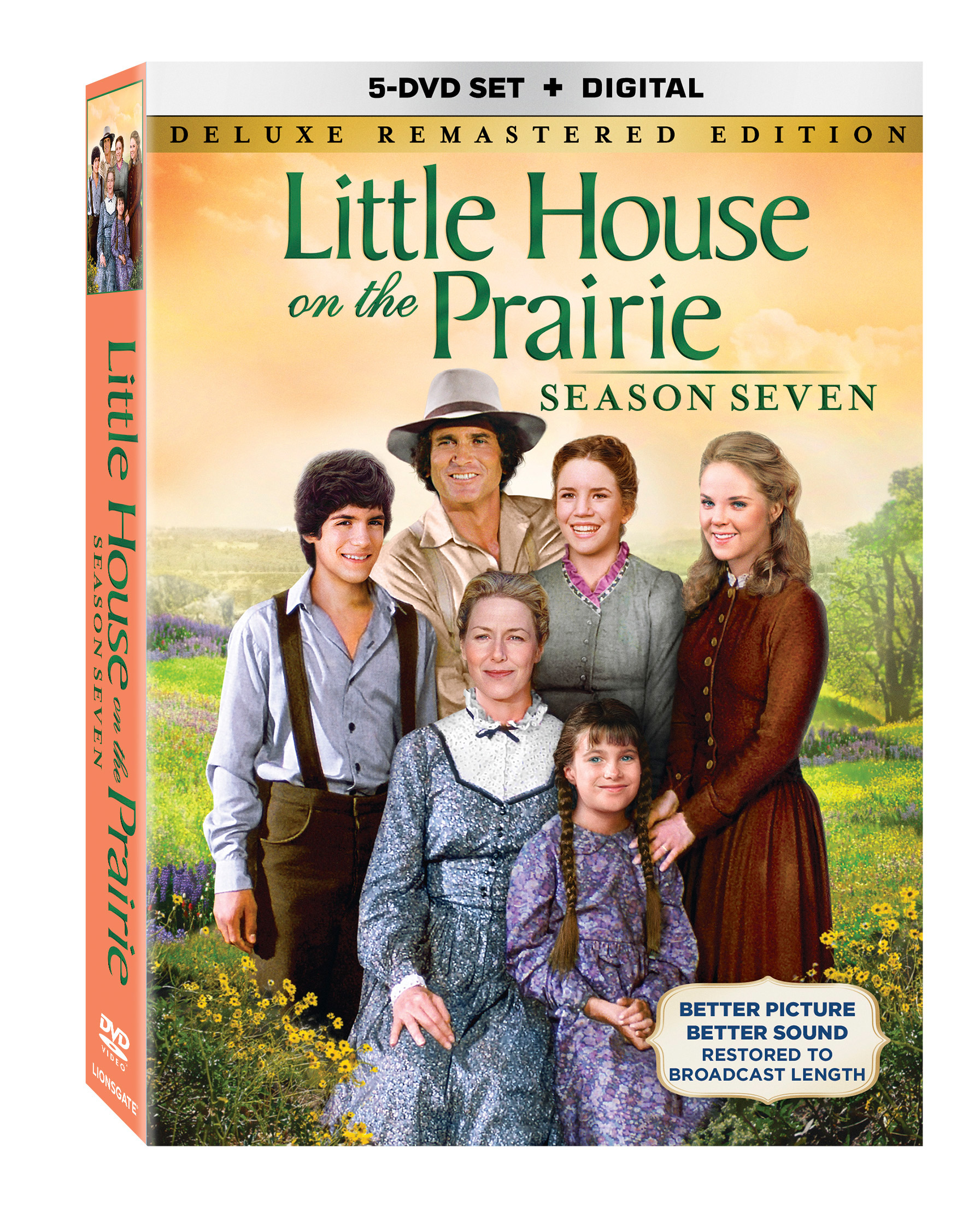little house on the prairie season seven available on dvd october